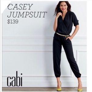 Cabi Limited Edition Casey Black Jumpsuit